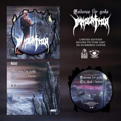 immolation failurs for gods shape picture vinyl