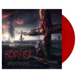korpse insufferable violence digipak cd