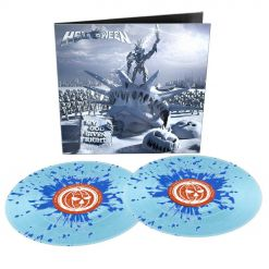 helloween my god given right blue splatter vinyl