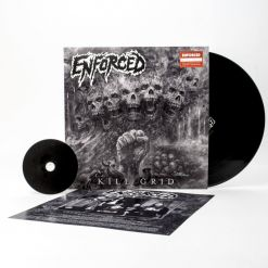 enforced kill grid black vinyl cd