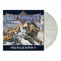 bolt thrower mercenary snow slush white marbled vinyl