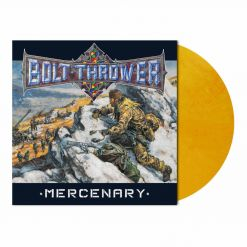 bolt thrower mercenary autumn orange marbled vinyl