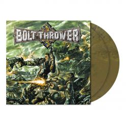 bolt thrower honour valour pride olive khaki marbled vinyl