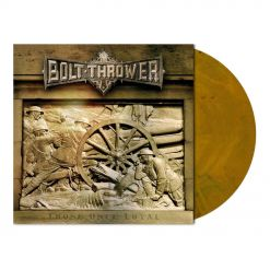 bolt thrower those once loyal yellow ochre marbled vinyl