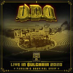 udo live in bulgaria 2020 the pandemic survival show cd bluray