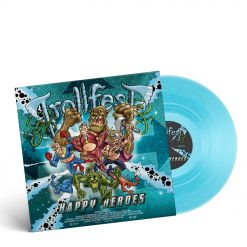Trollfest Happy Heroes Transparent Curacao Vinyl
