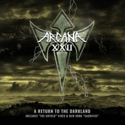 arcana xxii a return to the darkland digipak cd dvd