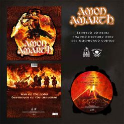 amon amarth guardians of asgaard shape picture vinyl