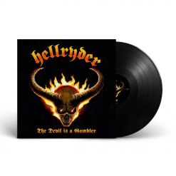 The Devil Is A Gambler - SCHWARZES Vinyl