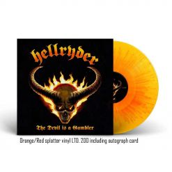The Devil Is A Gambler - ORANGE ROTES Splatter Vinyl
