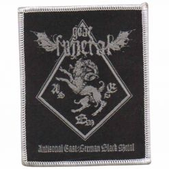 Antisocial East-German Black Metal - Patch