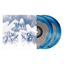 The Unreal Never Lived - SILBER BLAUES Corona 2-Vinyl