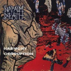 napalm death harmony corruption cd