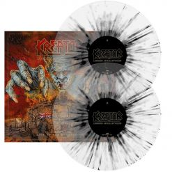 kreator london apocalypticon live at the roundhouse clear black splatter double vinyl gatefold