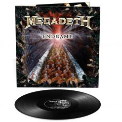 megadeth - endgame - black lp
