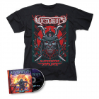 victorius space ninjas from hell cd t shirt bundle