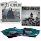 Myles Kennedy - The Ides Of March - Die Hard Edition: CLEAR MINT VIOLET WHITE Splatter 2- Vinyl + Metal Plate