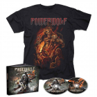 Call of the Wild – Mediabook 2-CD  Faster + Than The Flame T-Shirt Bundle