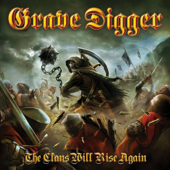 grave digger the clans will rise again digipak cd