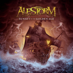 alestorm sunset on the golden age cd