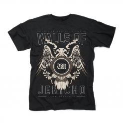 25983 walls of jericho no one can save you from yourself t-shirt
