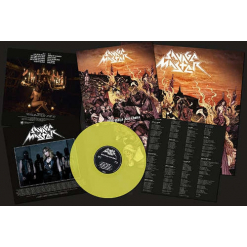 With Whips And Chains / PISS-YELLOW Vinyl
