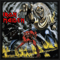 IRON MAIDEN - Number Of The Beast / Patch