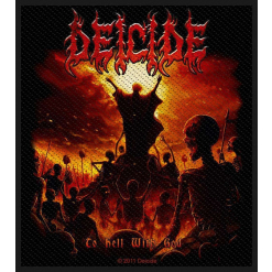 DEICIDE - To Hell With God / Patch
