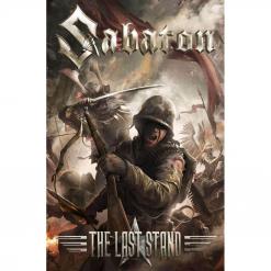 sabaton - the last stand - flagge - napalm records