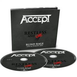 40977-1 accept restless and live digipak 2-cd heavy metal