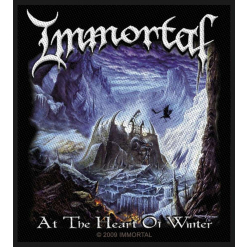IMMORTAL - At The Heart Of Winter / Patch
