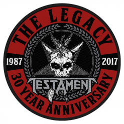 TESTAMENT - The Legacy 30th Year Anniversary / Patch