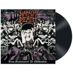 NAPALM DEATH - From Enslavement To Obliteration / BLACK LP