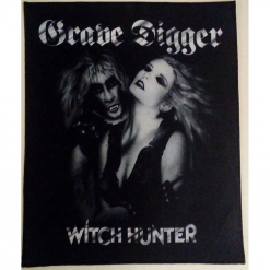 grave digger witch hunter backpatch