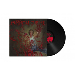 CANNIBAL CORPSE - Red Before Black / BLACK LP