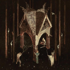 Wolves In The Throne Room album cover Thrice Woven