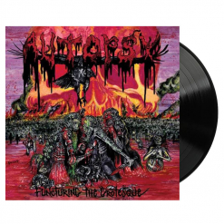 AUTOPSY - Puncturing The Groteque / BLACK LP