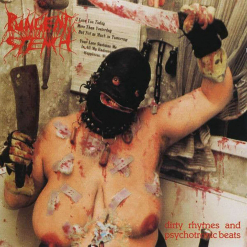 PUNGENT STENCH - Dirty Rhymes & Psychotronic Beats / WHITE LP Gatefold