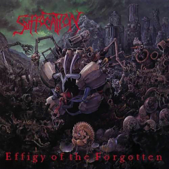 Effigy Of The Forgotten RED BLACK MARBLED LP