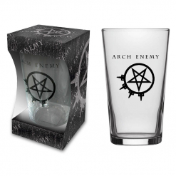 ARCH ENEMY - Logo / Beer Glass