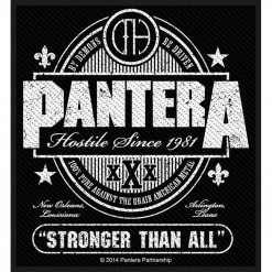 PANTERA - Stronger Than All / Patch