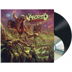 52123 aborted terrorvision black lp and cd death metal