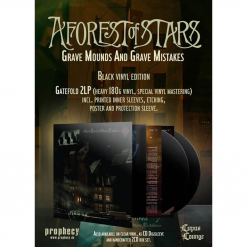 52250 a forest of stars grave mounds and grave mistakes black 2-lp black metal