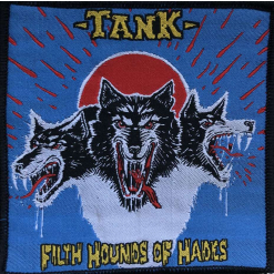 TANK - Filth Hounds Of Hades (Blue) / Patch