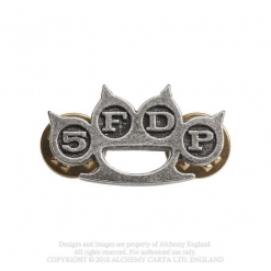 FIVE FINGER DEATH PUNCH - Knuckle Duster / Pin Badge