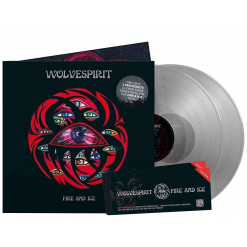 WOLVESPIRIT - Fire and Ice / CRYSTAL CLEAR 2-LP Gatefold Deluxe Edition