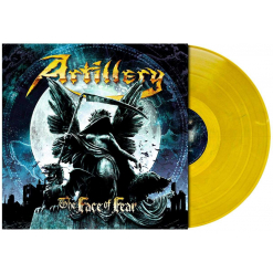 The Face of Fear / GOLDEN YELLOW BLUE Marbled LP