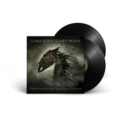 A PALE HORSE NAMED DEATH - When The World Become Undone / BLACK 2-LP Gatefold