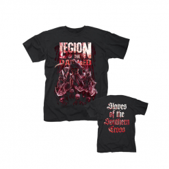 53973 legion of the damned slaves of the southern cross t-shirt