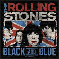 THE ROLLING STONES - Black And Blue / Patch